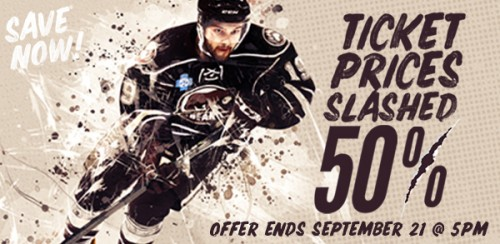 Hershey Bears Ticket Prices Slashed 50%
