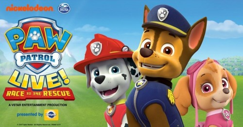 PAW Patrol Live! to Come to Hershey Theatre