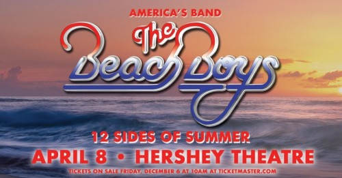 The Beach Boys to Play Hershey Theatre