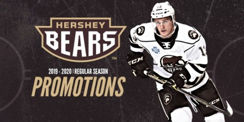 Hershey Bears Release 2019-20 Promo Schedule