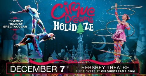 Cirque Dreams Holidaze to Light up the Stage at Hershey Theatre