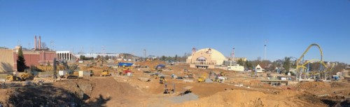 Hershey's Chocolatetown Construction Update
