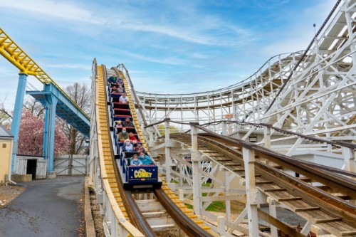 Comet at Hersheypark Turns 75 in May 2021
