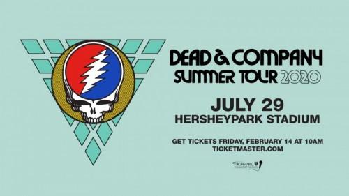 Dead & Company to Play Hersheypark Stadium