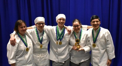 MHS Students Place First at Pennsylvania ProStart Culinary Invitational