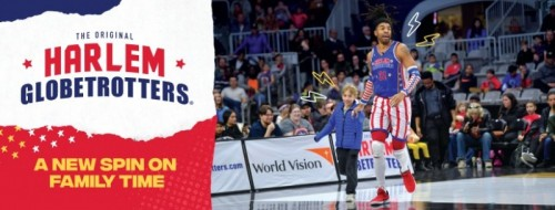 Harlem Globetrotters Return to Giant Center in 2020