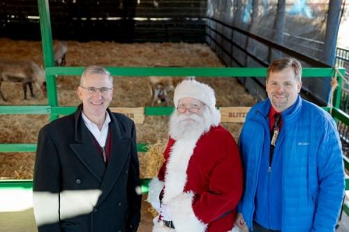 Santa's Reindeer Certified to Fly at Hersheypark