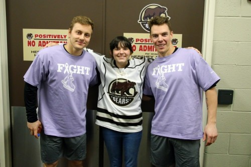 More Than Hockey - Hershey Bears Hosted Club's First Hockey Fights Cancer Night