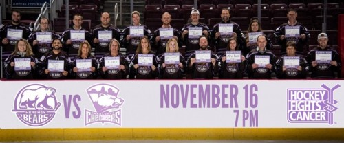 Hershey Bears to Host Hockey Fights Cancer