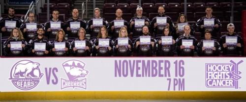 Hershey Bears to Host Hockey Fights Cancer