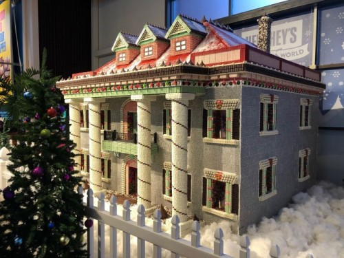 Historic Mansion Transformed into Holiday Chocolate House