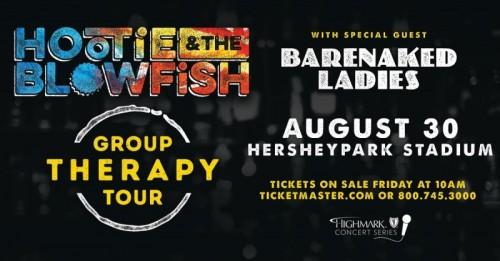 Hootie & the Blowfish to Come to Hersheypark Stadium