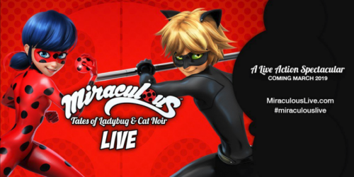 Miraculous: Tales of Ladybug and Cat Noir to Come to Hershey Theatre