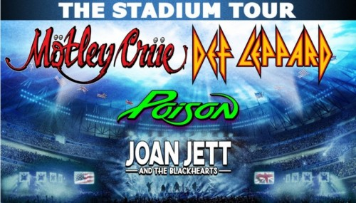 Motley Crue and Def Leppard Coming to Hersheypark Stadium