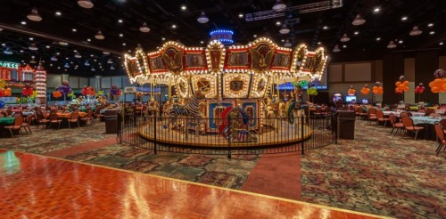 Celebrate New Year's Eve at an indoor carnival at Hershey Lodge