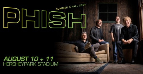 Phish Returns to Hershey After a Decade