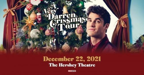 Darren Criss Christmas Tour to Visit Hershey Theatre