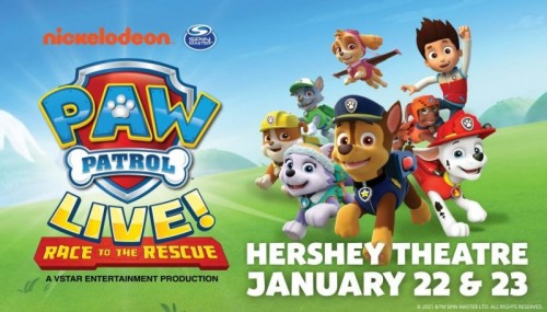 PAW Patrol Live! to Bring Family Fun to Hershey Theatre
