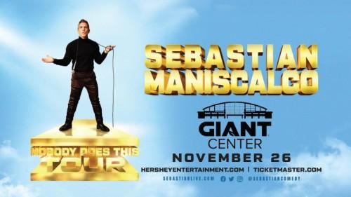 Comedian Sebastian Maniscalco to Return to Hershey