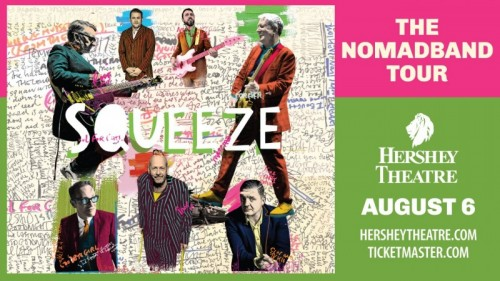British Rock Band Squeeze to Perform at Hershey Theatre