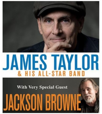 Singer-Songwriter James Taylor to Visit  GIANT Center