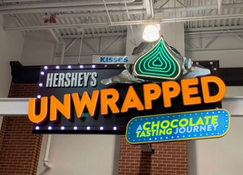 Introducing Hershey's Unwrapped at Hershey's Chocolate World