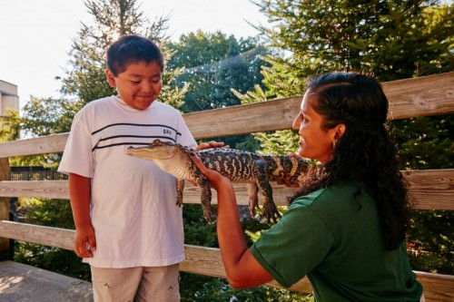 Family-Friendly Spring Activites at ZooAmerica