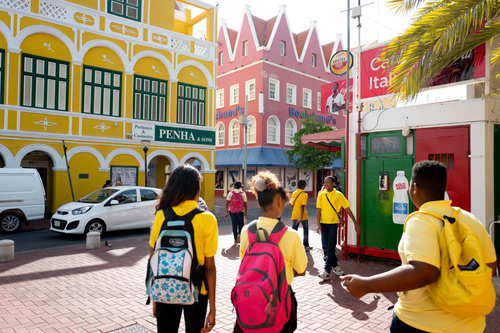 Willemstad Curacao with kids