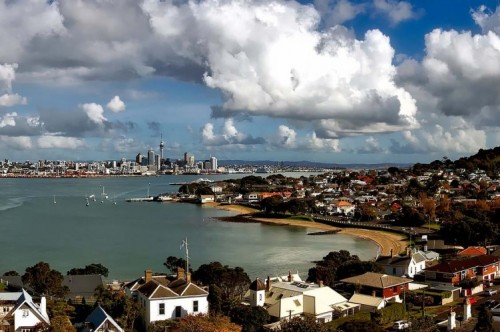 Auckland, New Zealand, home of volunteer Ina Hearns