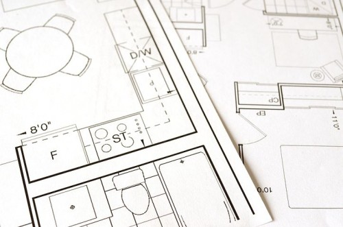 Referencing floor plans of places you've lived is a great way to remember memories from the time you lived there.
