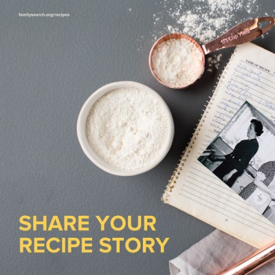 Savor your family\'s history: Share your treasured recipes