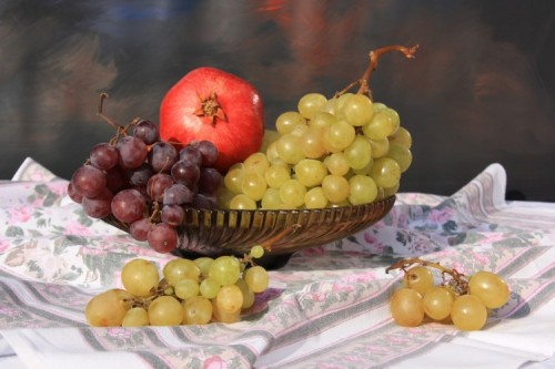 Food is an integral part of many New Year's traditions. Spain and Portugal include a 12 grapes family event.