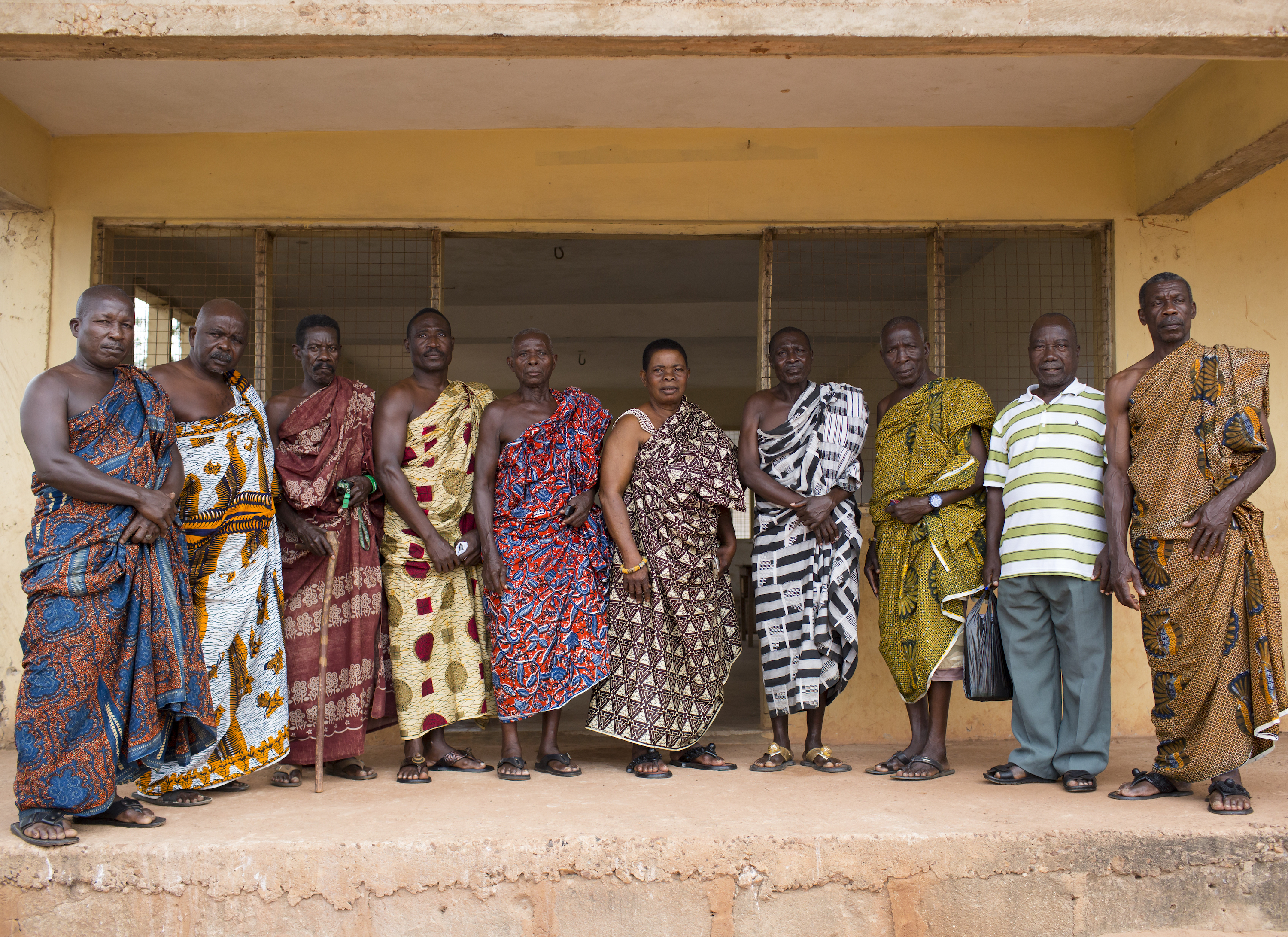 Ghana Africa Tribal Leaders and Oral Family Historians