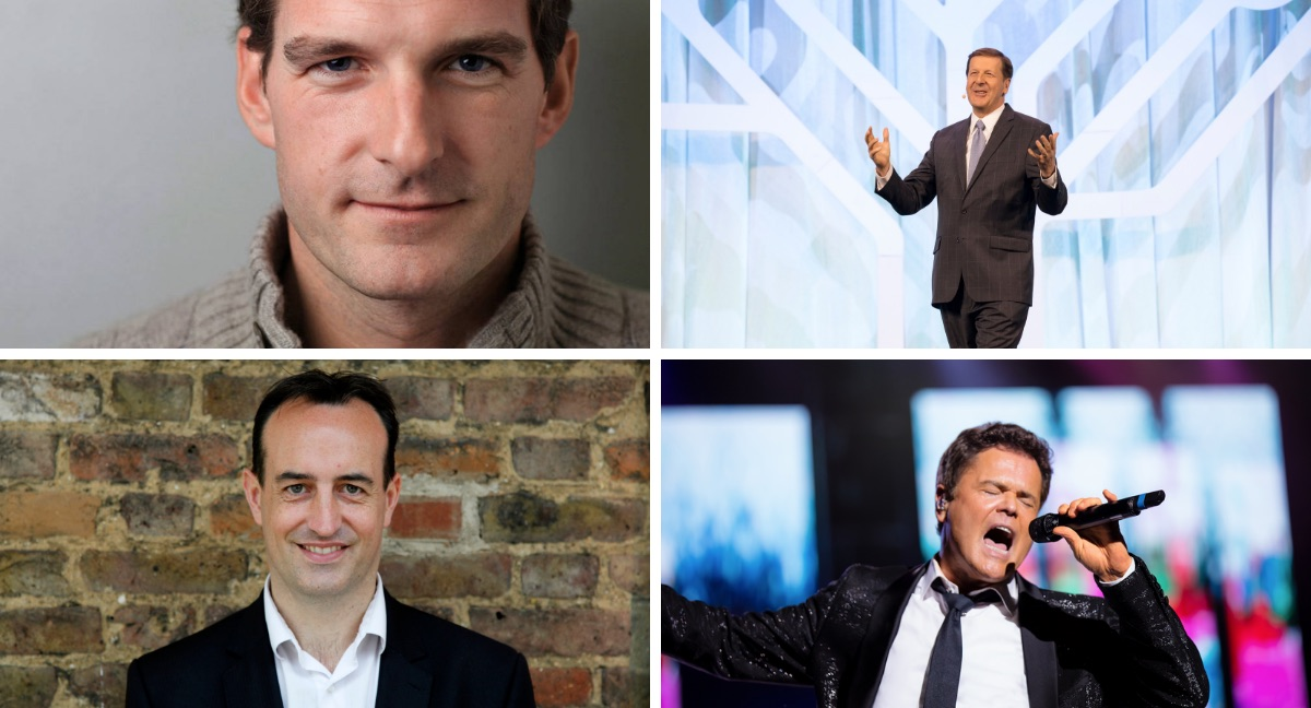 RootsTech London features and entertainers include Dan Snow, Nick Barratt, Steve Rockwood, Donny Osmond and Tre Amici.