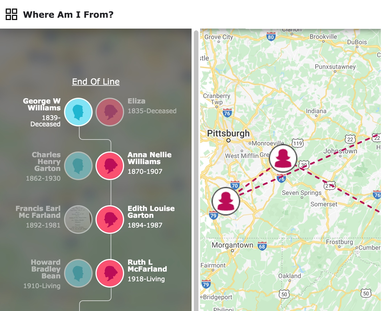 "The new FamilySearch ""Where Am I From?"" interactive experience is a fun way to discover your ancestral homelands and learn interesting cultural traditions and practices that might have impacted your ancestors."