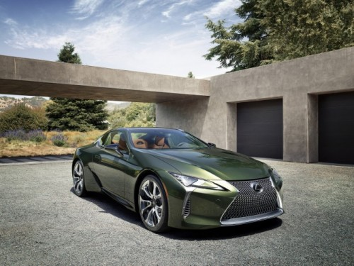 2020 LEXUS LC LIMITED EDITION PAIRS CLASSIC COLOUR PALETTE WITH CUTTING EDGE DESIGN