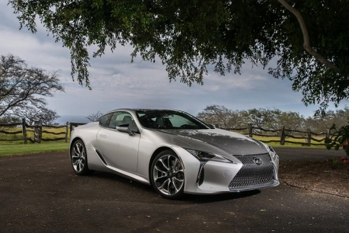LEXUS LC COUPE DELIVERS EVEN SHARPER AND MORE REFINED PERFORMANCE