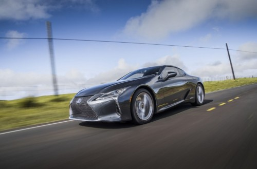 10 AMAZING FACTS ABOUT THE UPDATED LEXUS LC COUPE