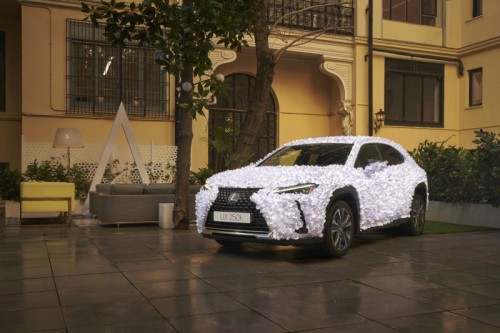 LEXUS SPAIN UNVEILS THE UX ART CAR 2021 ZEN GARDEN BY CLAP STUDIO
