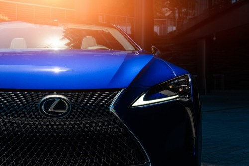 THE LEXUS LC CONVERTIBLE REGATTA EDITION