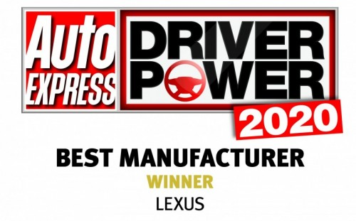 LEXUS ACCLAIMED AS THE UK'S BEST MANUFACTURER FOR FOURTH SUCCESSIVE YEAR IN THE AUTO EXPRESS DRIVER POWER SURVEY