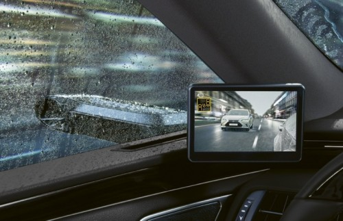DIGITAL SIDE VIEW MONITORS NOW AVAILABLE ON THE LEXUS ES LUXURY SEDAN IN EUROPE