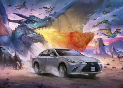 ARTISTS CAPTURE THE SPIRIT OF LEXUS IN ORIGINAL MANGA ARTWORKS