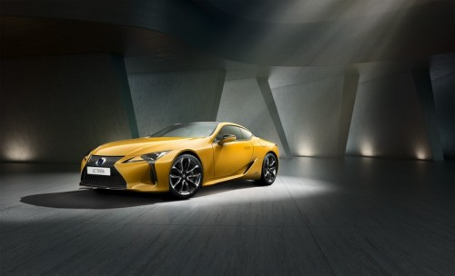 LEXUS INTRODUCES DAZZLING NEW LC YELLOW EDITION COUPE
