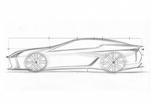 LEXUS CREATES SKETCHING