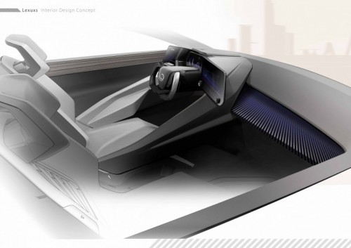 ARTIST DESIGNERS CREATE VIRTUAL INTERIORS FOR LEXUS LF Z ELECTRIFIED