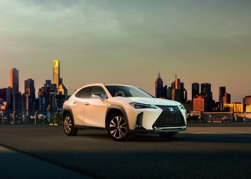 WORLD DEBUT OF THE LEXUS UX A NEW GENRE OF CROSSOVER