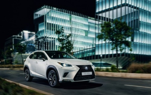 LEXUS ADDS NEW SPORT GRADE MODELS TO THE NX MID SIZE CROSSOVER RANGE