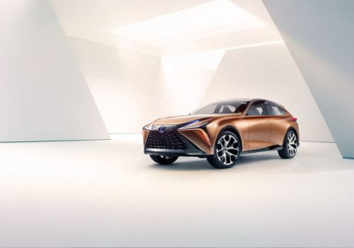 Lexus Carves Out a New Flagship Luxury Crossover with Lexus LF 1 Limitless