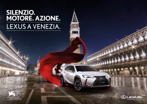 LEXUS IS THE MAIN SPONSOR OF THE 75TH VENICE INTERNATIONAL FILM FESTIVAL